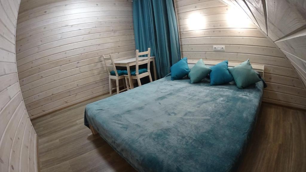 Кровать или кровати в номере Gourmet Hotel Wild Chocolate