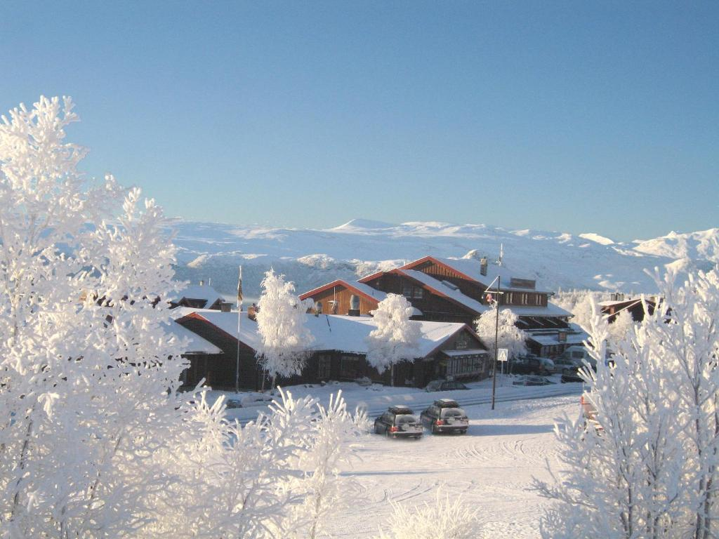 Bergo Hotel, Apartments and Cottages during the winter
