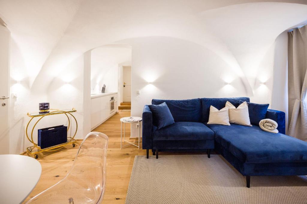 Ein Sitzbereich in der Unterkunft Exclusive Apartment La Clemenza di Tito
