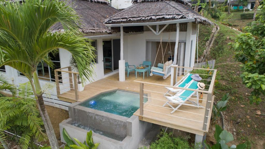 Bassenget på eller i nærheten av Paradise KohYao