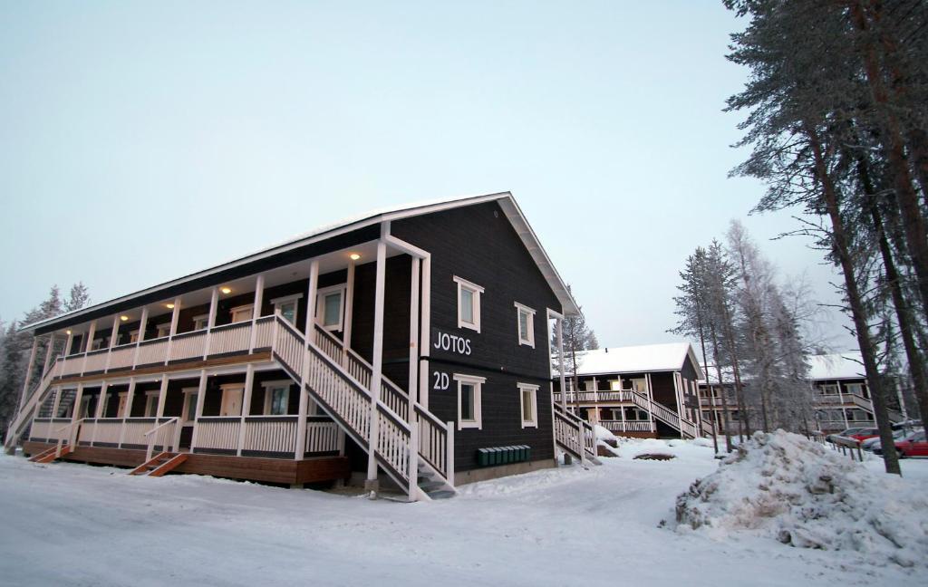 Hostel Hullu Poro under vintern