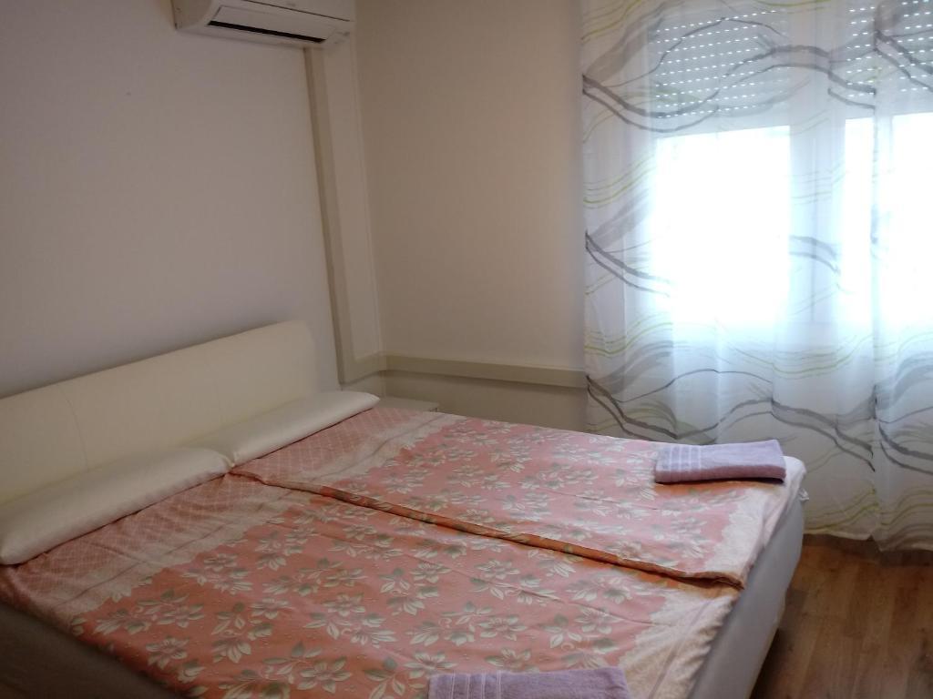 Postelja oz. postelje v sobi nastanitve Beautiful apartment in the center