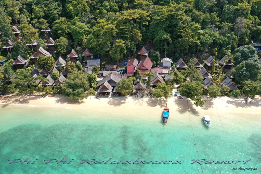 A bird's-eye view of Phi Phi Relax Beach Resort