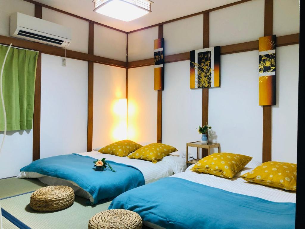 Near Namba Shin saibashi ! Japanese tradinal Villa Yuan-house NH-101!