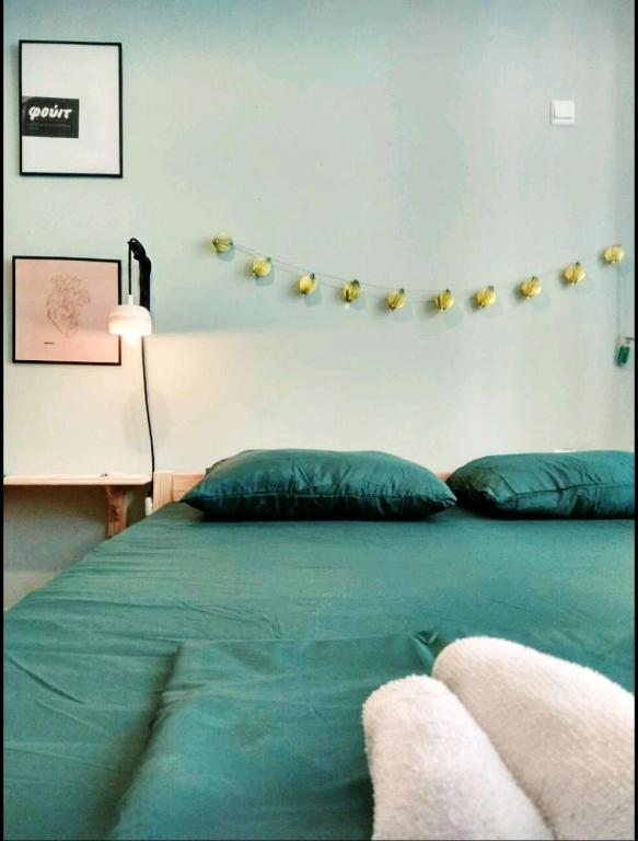 Ένα ή περισσότερα κρεβάτια σε δωμάτιο στο Cocoyam Indigo
