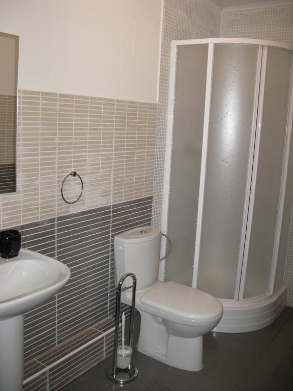 A bathroom at Zolotye Peski