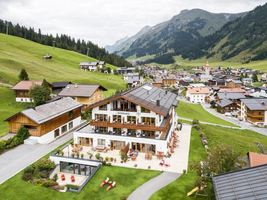 A bird's-eye view of Hotel-Garni Schranz