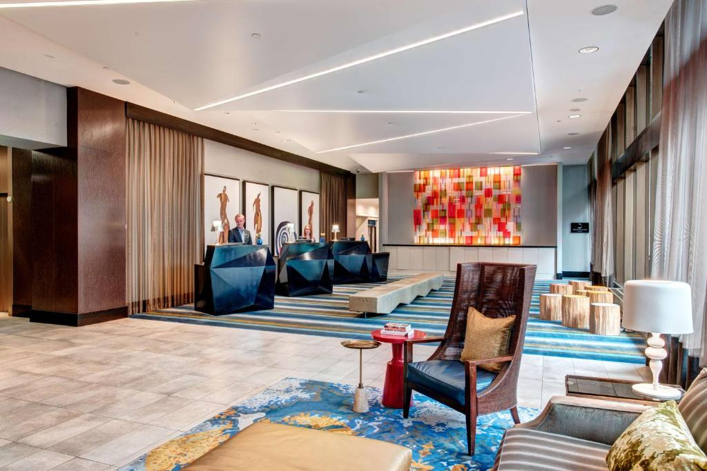 The lobby or reception area at Motif Seattle