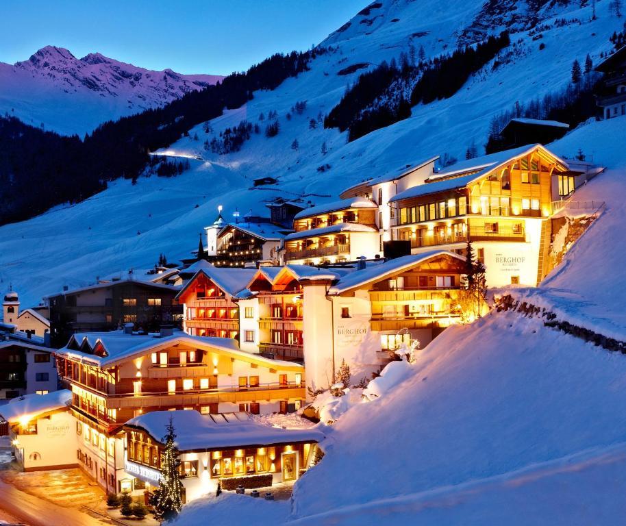 Hotel Berghof Crystal Spa & Sports durante o inverno