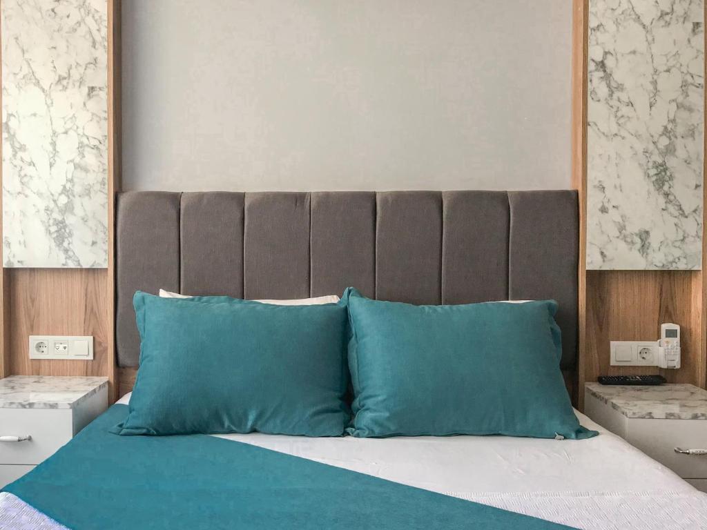 Кровать или кровати в номере Sultanahmet Nu Hotel