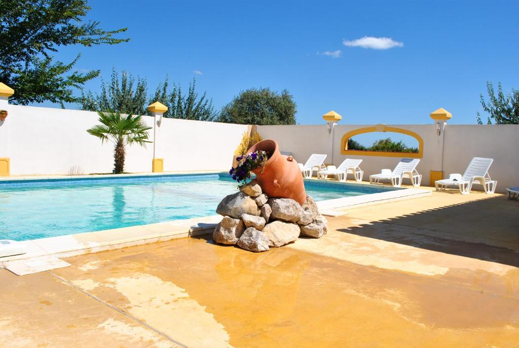 The swimming pool at or near EL ROCIO 3