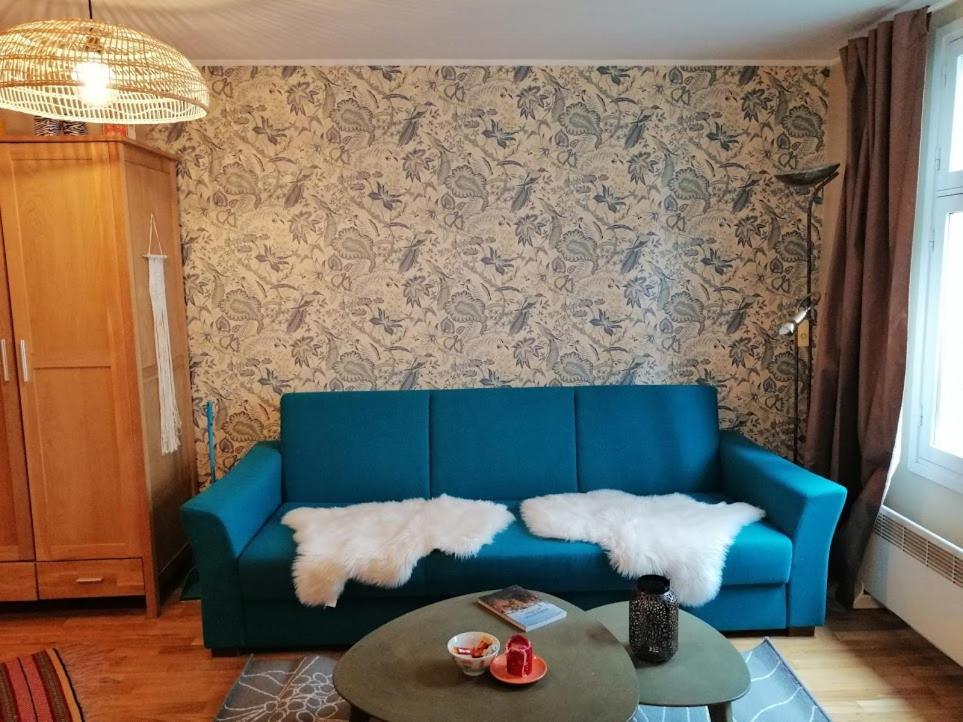 Ein Sitzbereich in der Unterkunft Apartment in Kalamaja next to Old Town&Center