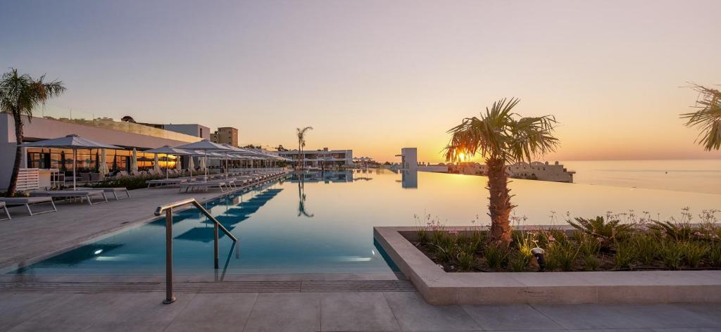 The swimming pool at or near Lindos Grand Resort & Spa
