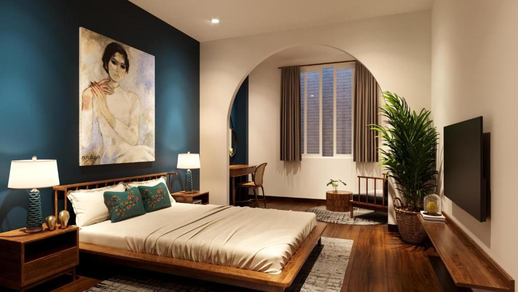 Phòng Deluxe Có Giường Cỡ Queen - Giặt Là Miễn Phí