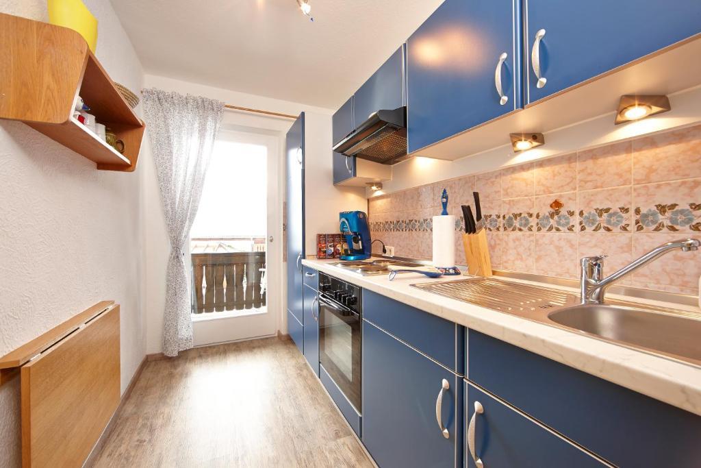 Küche/Küchenzeile in der Unterkunft Haus Schweigart