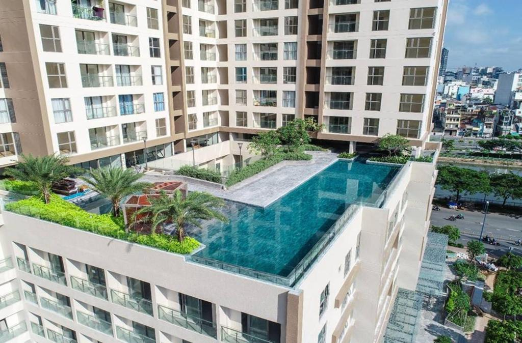 A view of the pool at Ao Homestay - Millennium or nearby