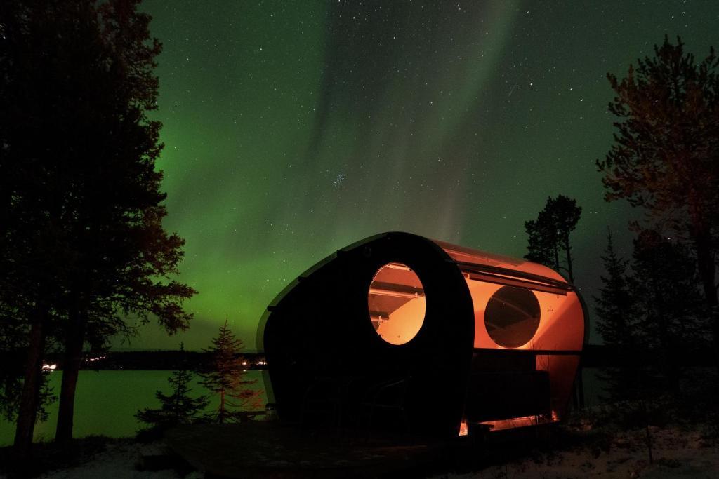 Skyvillage Skynest Ruotsi Kiiruna Booking Com