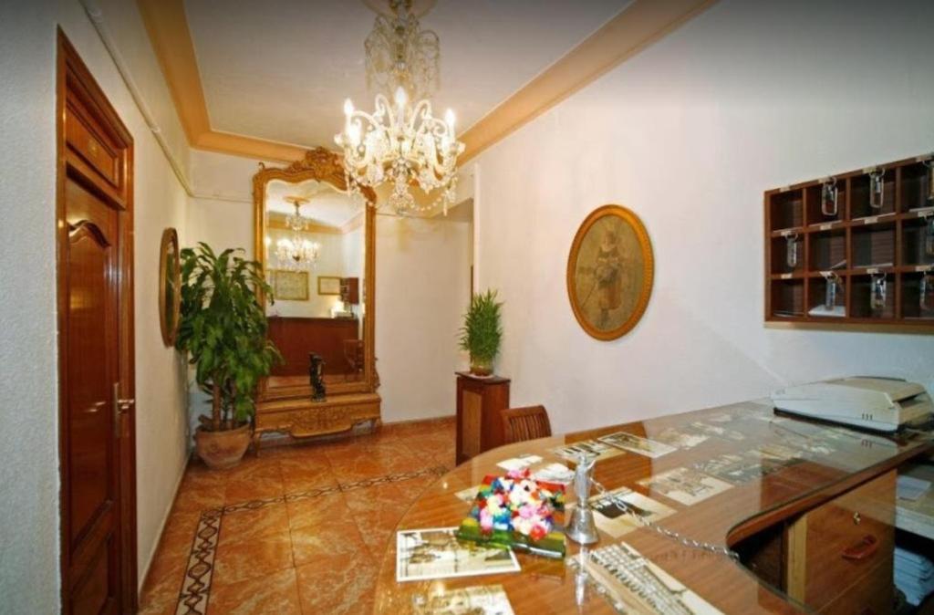 Lobby alebo recepcia v ubytovaní Hostal Prada