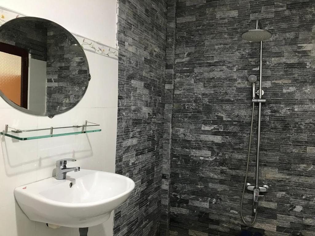 Phòng 4 Người với Phòng tắm Riêng