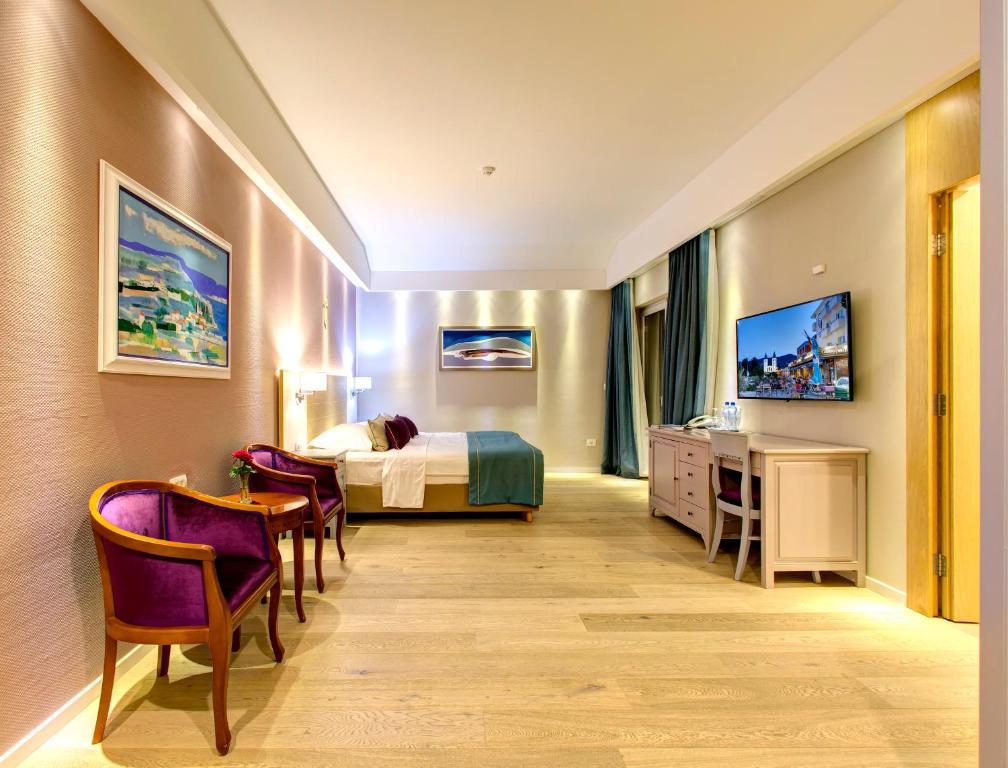 منطقة جلوس في فندق فيلا ريجينا