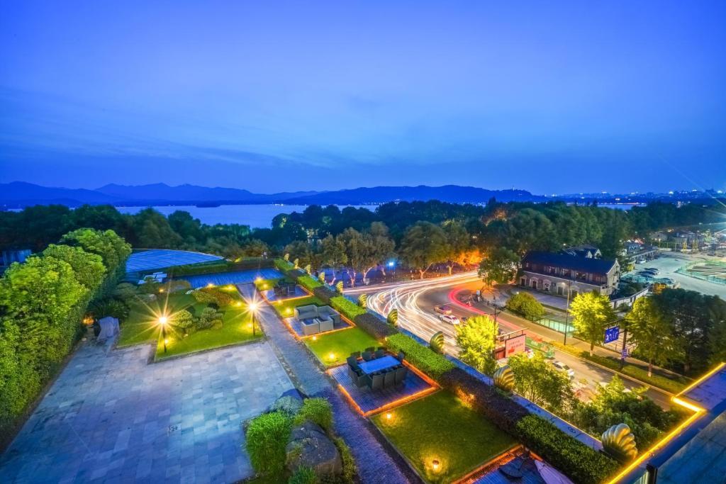 A bird's-eye view of Sofitel Hangzhou Westlake