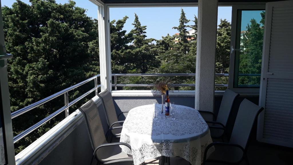 Balkón nebo terasa v ubytování Apartments Puky Dreams