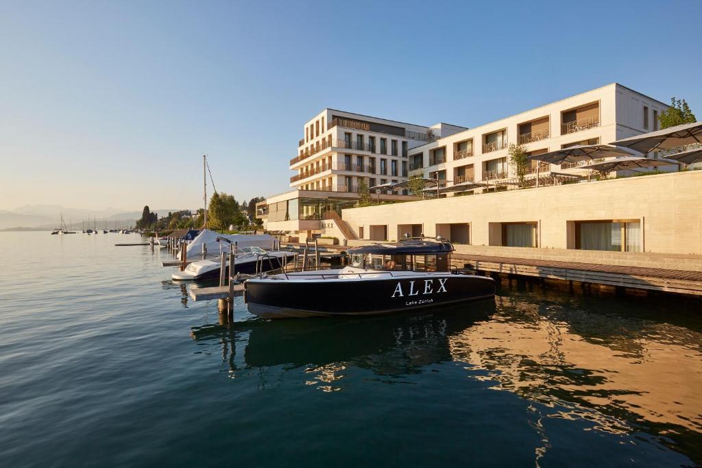 Mitte 2019 eröffnet das 5-Sterne Hotel Alex Lake Zurich in Thalwil am Zürichsee