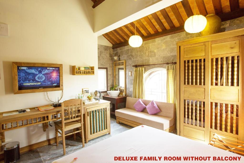Phòng Deluxe Gia đình với Cửa sổ
