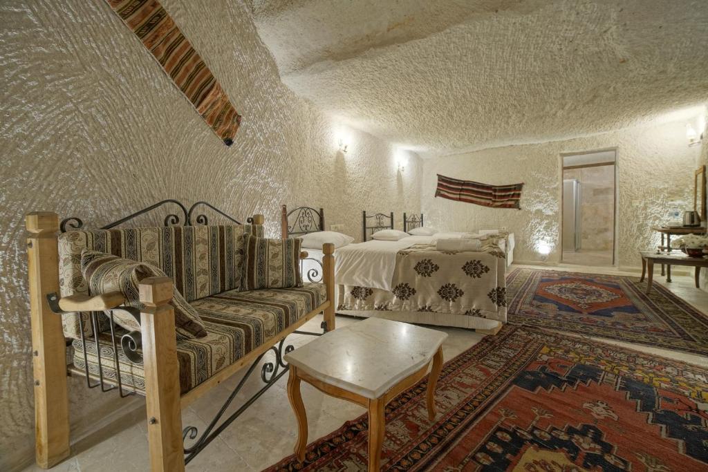 Гостиная зона в Melek Cave Hotel