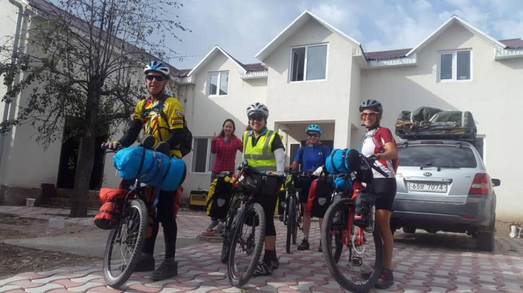 Biking at or in the surroundings of Snow Leopard Hostel