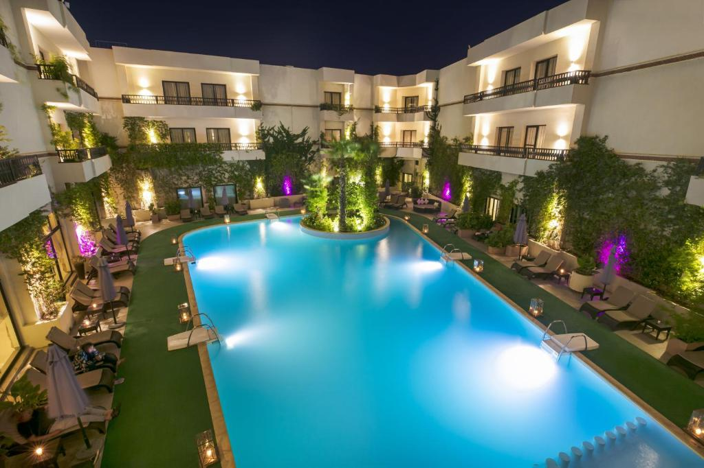 The swimming pool at or near Kech Boutique Hotel & Spa