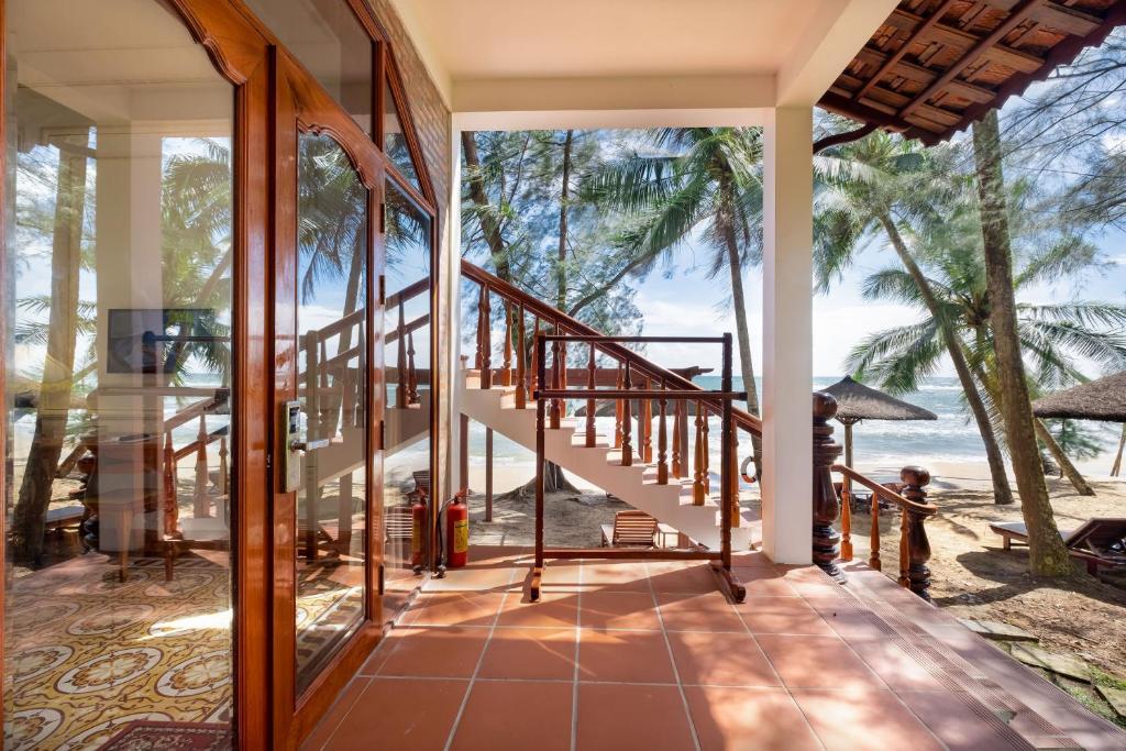 Phòng Giường Đôi Nhìn ra Bãi Biển