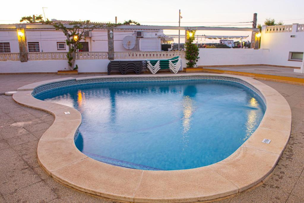 A piscina em ou perto de Sa Paissa