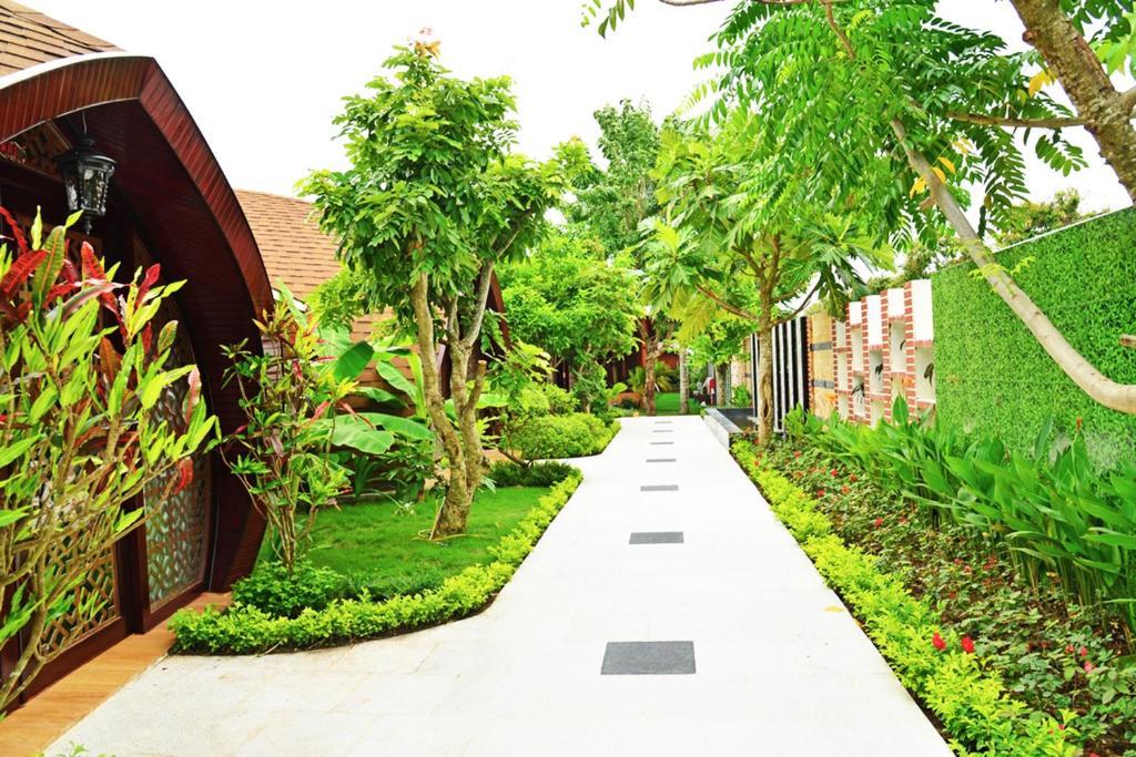 Bungalow Nhìn ra vườn