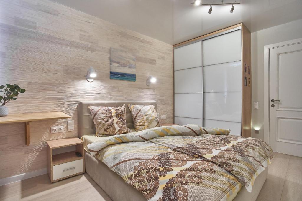 Кровать или кровати в номере Tanka Double Room Apartments