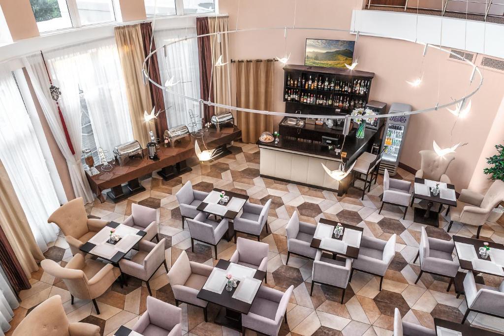 Лаундж или бар в Отель Минин на улице Пожарского