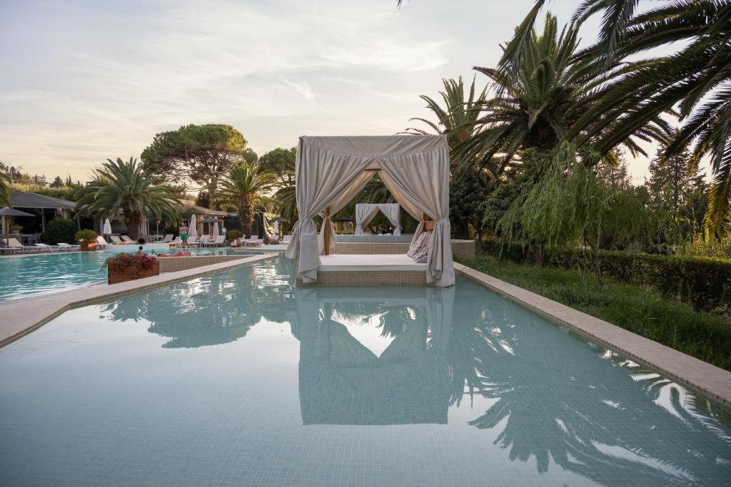 The swimming pool at or near Art Hotel Debono