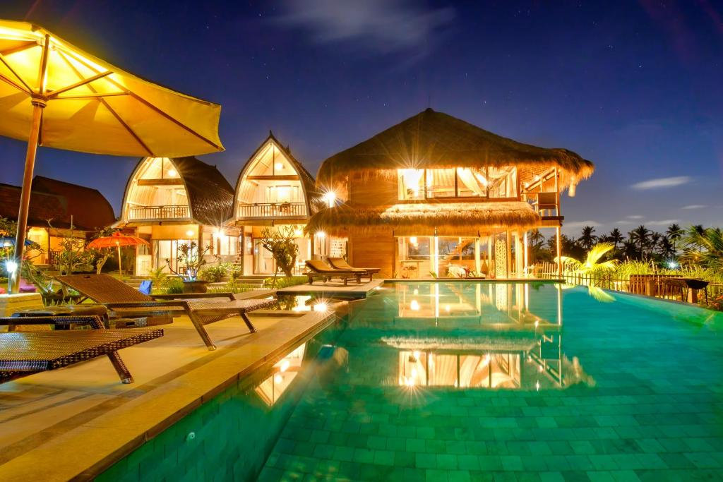 The swimming pool at or close to Canggu Wooden Green Paradise