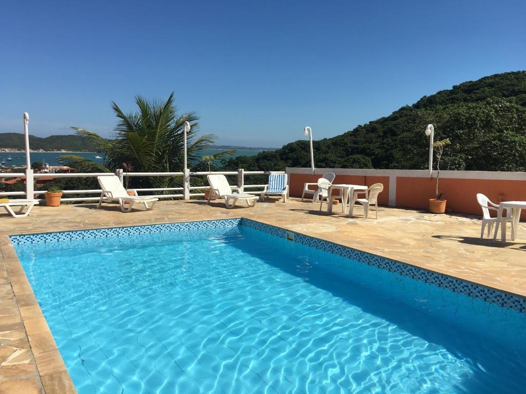 A piscina localizada em Pousada Almar ou nos arredores