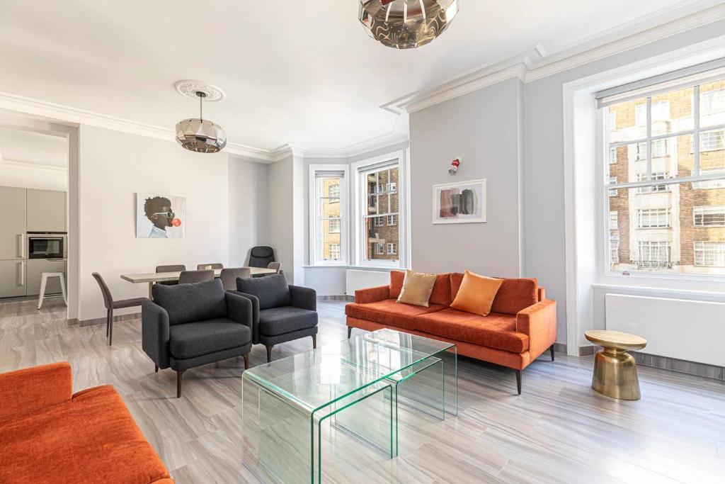 Stylish 3-Bed Flat Near Mayfair And Edgware Road