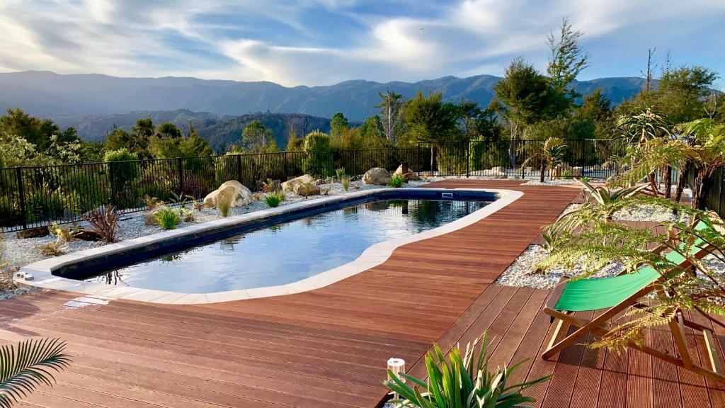 The swimming pool at or near Split Apple Lodge - Eco Lodge & Spa