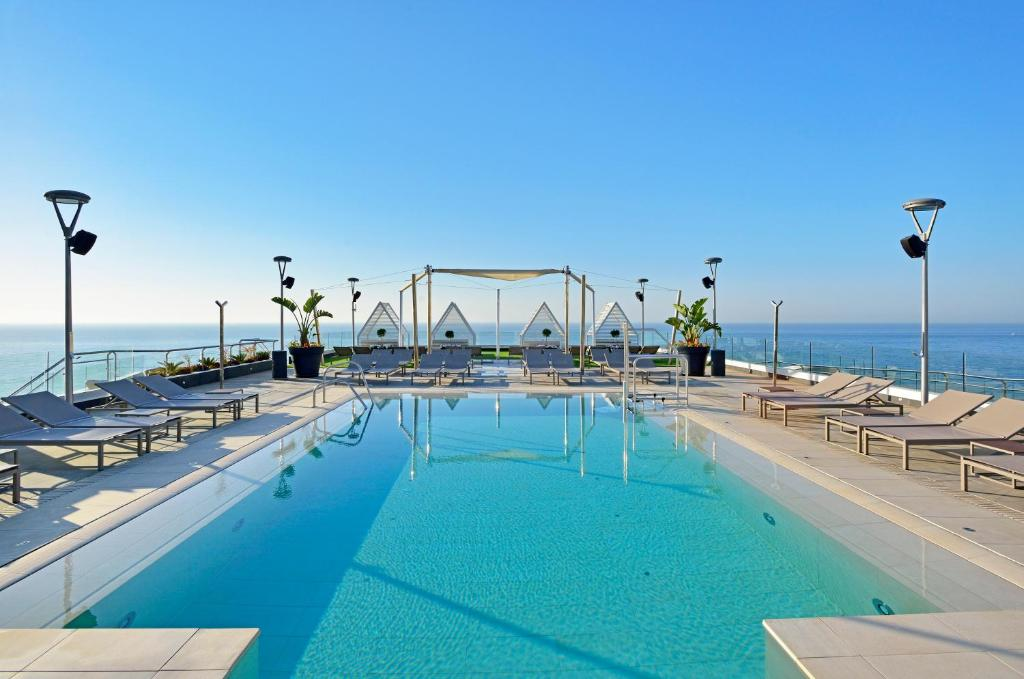 The swimming pool at or near Melia Costa del Sol