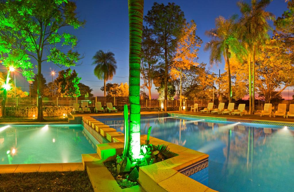 The swimming pool at or near La Mision Posadas