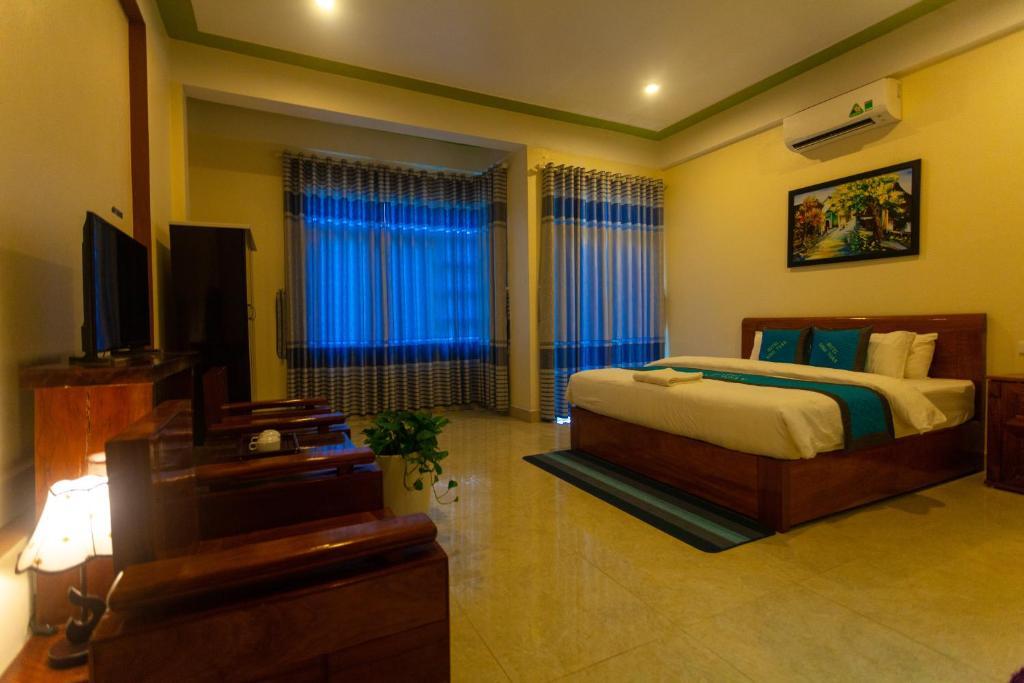 Phòng Có Giường Cỡ King Với Ban Công