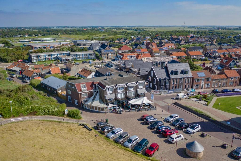 A bird's-eye view of Strandhotel Zoutelande