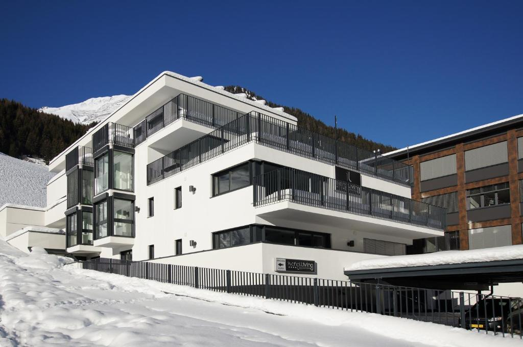 Ischglliving Appartements during the winter