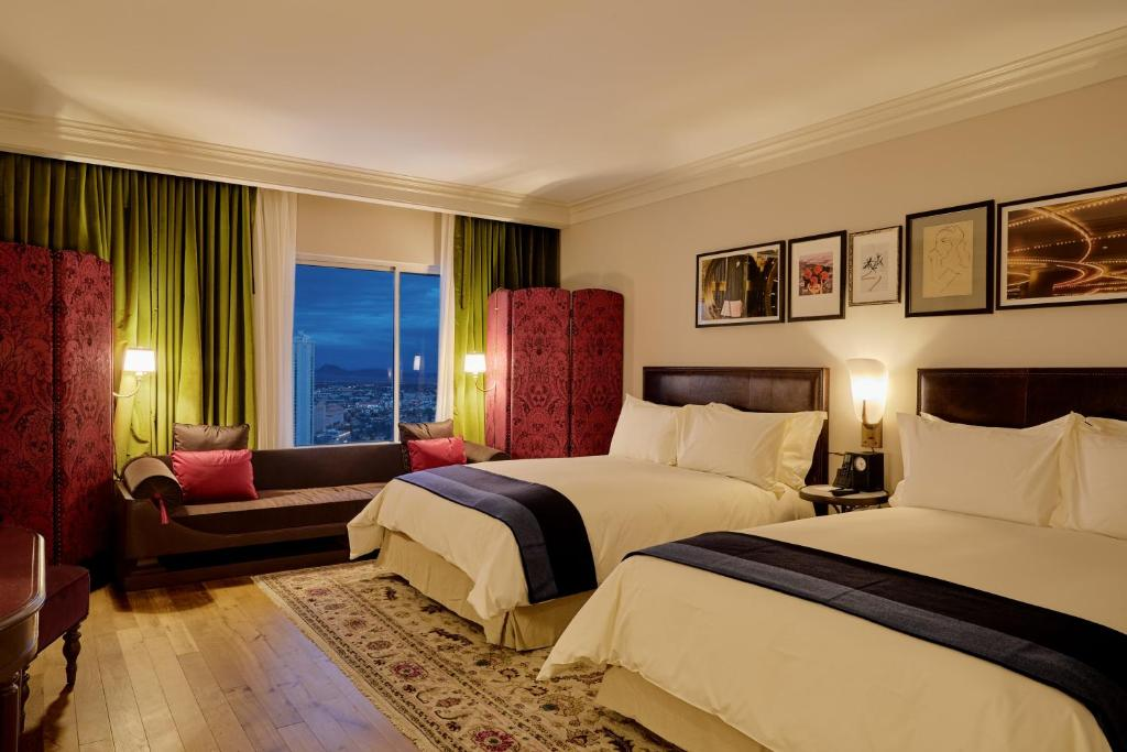 A room at the NoMad Las Vegas.