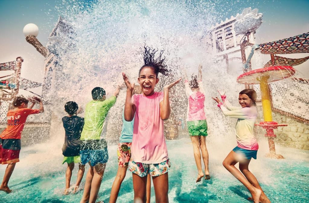 Children staying at Staybridge Suites Yas Island Abu Dhabi