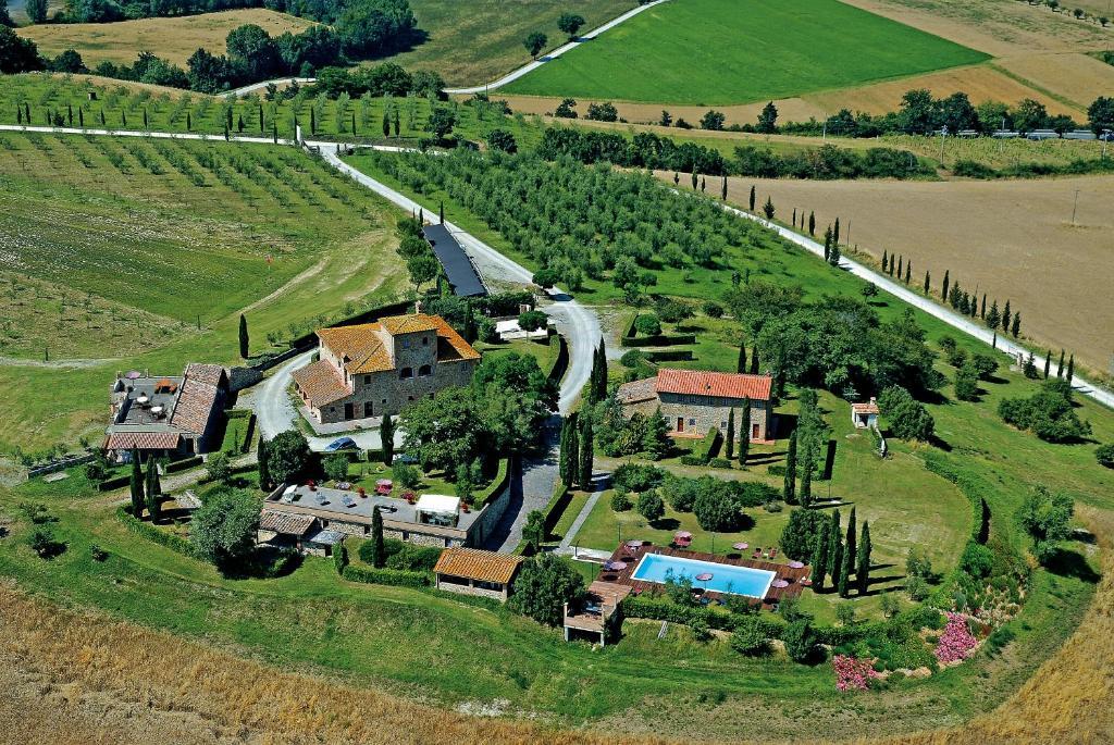 Vista aerea di La Mandriola