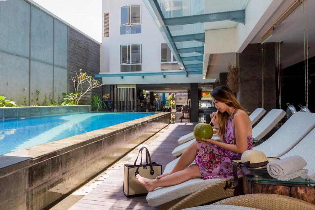 The swimming pool at or near Solaris Hotel Kuta